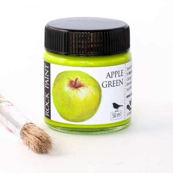 Apple Green acrylic craft paint