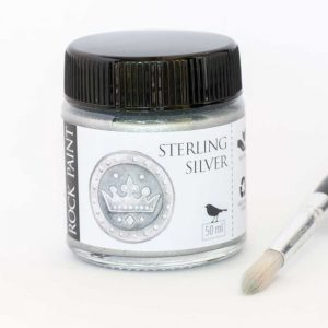 Silver metallic paint