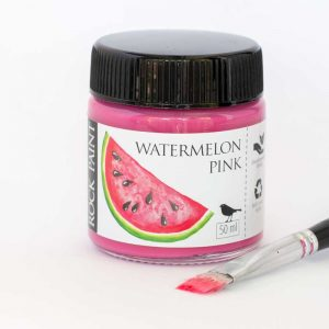 Watermelon pink paint