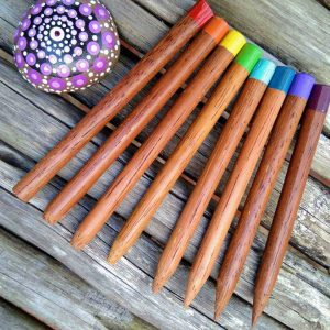 Wooden dotting tools for making mandala on rocks