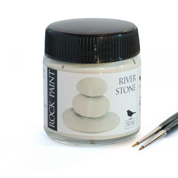 River Stone acrylic craft paint