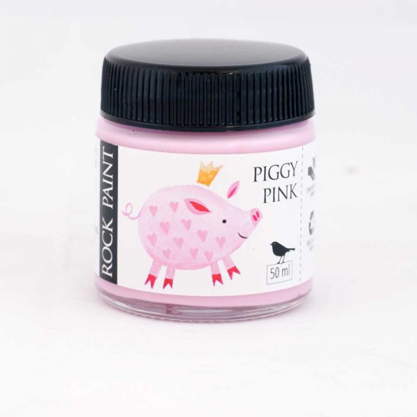 Piggy Pink acrylic craft paint