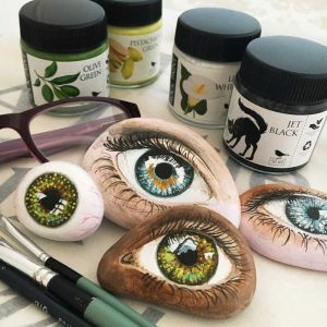 Painted eye workshop