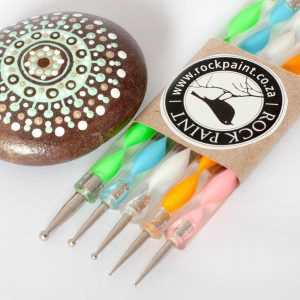 Acrylic Plastic Dotting Tools for Rockpaint mandalas