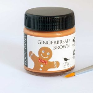 Gingerbread Brown craft paint