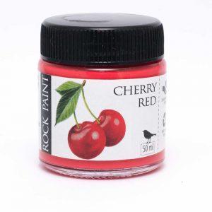 Rock Paint Cherry Red paint