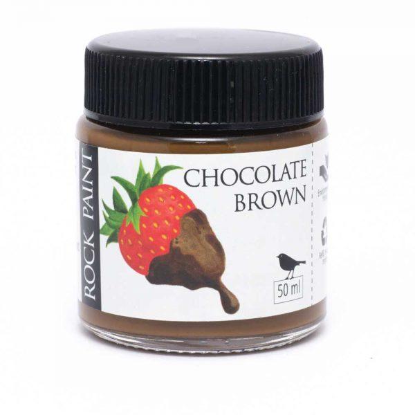 Rock Paint Chocolate Brown paint