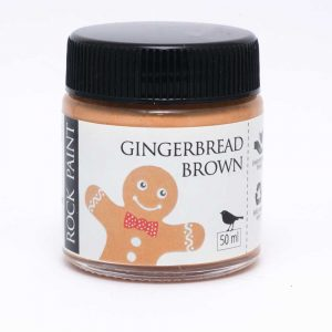 Rock Paint Gingerbread Brown paint