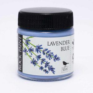 Rock Paint Lavender Blue paint