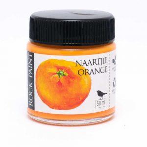 Rock Paint Naartjie Orange paint